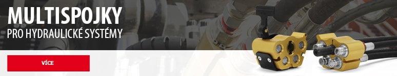 Multispojky pro hydraulické systémy