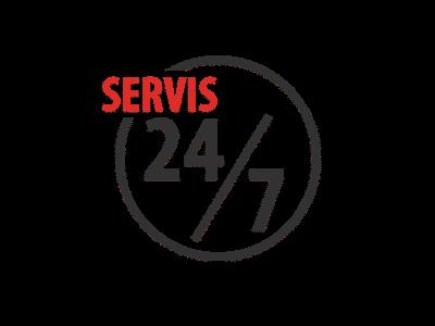 Servis 24/7 ve všech pobočkách